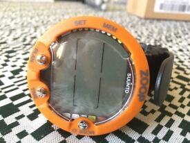 Suunto Zoop dive computer (as new) with USB cable