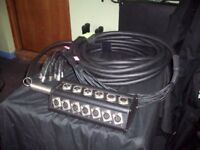 15m Multicore 16 + 4 Stage Box