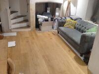 Engineered Oak Wood Flooring - three spare packs for sale