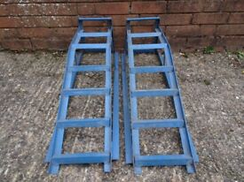 Pair of Steel Car Ramps