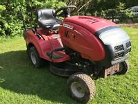 Ride on mower tractor rare mulch and collect Kohler engine automatic