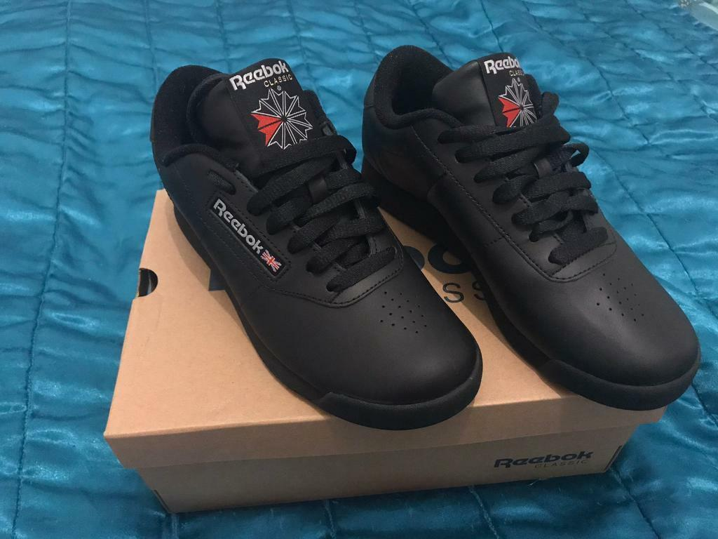Ladies size 4 reebok classic princess trainers | in Cambuslang, Glasgow | Gumtree