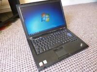 Lenovo ThinkPad, Dual Core Laptop in Good Condition.