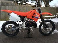 Honda CR250 RL 1990 evo motorcross bike