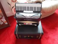 Rondelli Accordion 120 bass lovely condition.