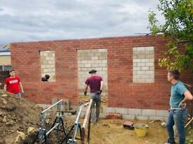 Very Good Bricklayers available for Extencions and garden walls