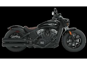 2018 Indian Motorcycles Scout Bobber THUNDER BLACK