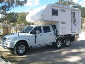 2006 Mitsubishi 4WD RV Slide-On Camper/Motorhome Winston Hills Parramatta Area Preview