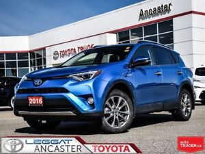 2016 Toyota RAV4 Limited only 40916 kms!!