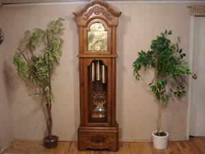 Beautiful Cable Driven Grandfather Clock