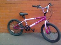 Vibe Bmx ,City Bike - omfortable seat , good brakes , good condition , ready to ride .