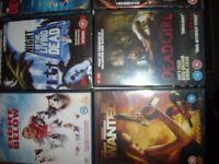 10 GREAT DVDs (1 UNOPENED) BARGAIN