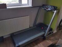 Running machine/Treadmill and Cross trainer