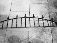 Rout iron fencing