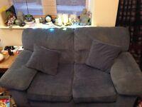 Free 2 seater sofa blue