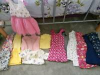 Girls 14piece summer clothes bundle 18-24month
