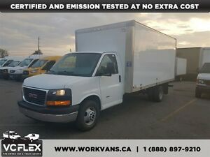 2014 GMC Savana G3500 6.6L Diesel 16Ft Box