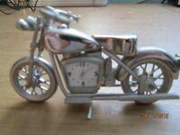 Motorbike Motorcycle Clock Ornament Harley Davidson