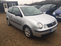 VW POLO 1.2S 3DR 2004 IDEAL FIRST CAR CHEAP INSURANCE FULL SERVICE HISTORY HPI CLEAR