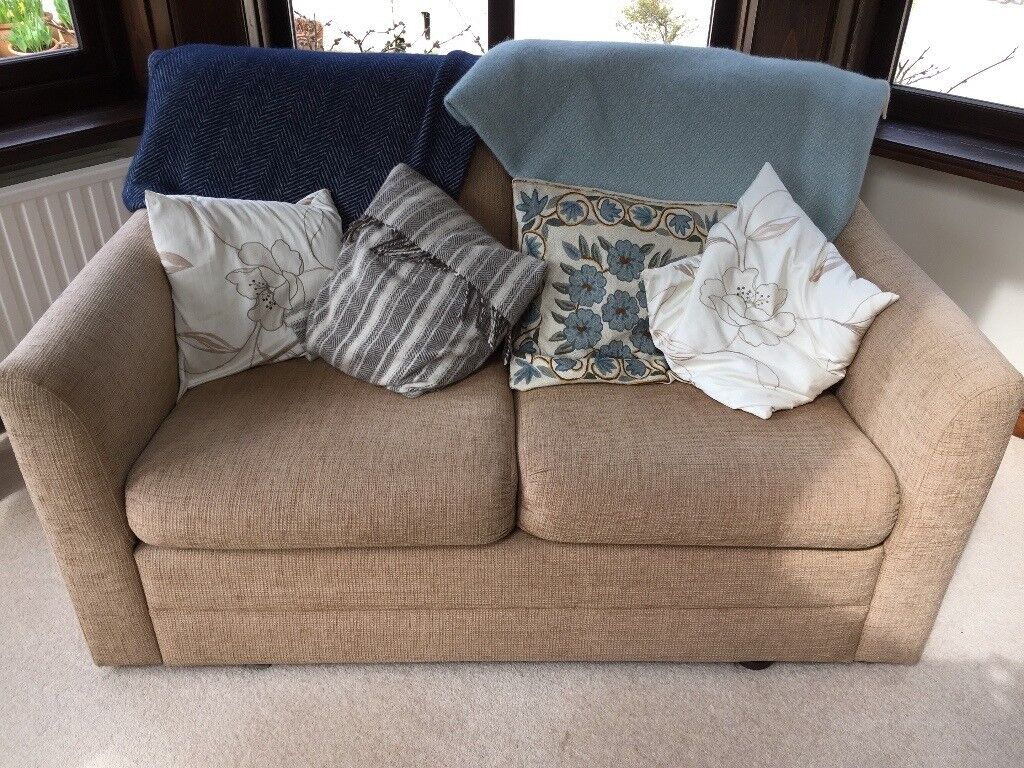 Two Seater Sofa Bed For Sale Excellent Condition Hardly Used Very