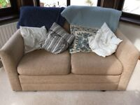 Two seater sofa bed for sale. Excellent condition, hardly used, very comfortable