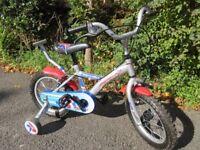 """Boy's 14"""" Apollo Rocketman Bike"""