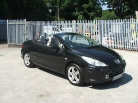 PEUGEOT 307 CCs Hard Top Convertable MOT MAY 2019 with lots S/History