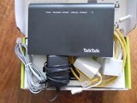 TalkTalk Huawei Router HG633