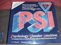 PSI GAME (New & Boxed)