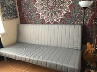 **DOUBLE SOFA BED BARELY USED**