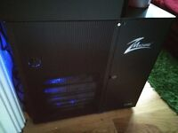 Zalman Z - Machine LQ1000 FULL ALUMINIUM WATER COOLED ATX TOWER PC CASE WITH FLOW AND FAN CONTROL