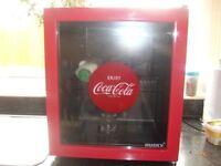 coke a cola worktop fridge