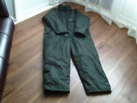 Keenets Snowbear One Piece Fishing Suit Large