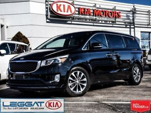 2016 Kia Sedona SX - LEATHER , Power Doors/Liftgate, Bluetooth