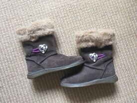 Clarks Girls Boots - UK Size 6F