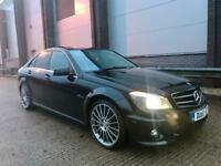 60/2011 MERCEDES BENZ C63 AMG 6.3 TOP SPEC FULLY LOADED REMAPPED MINT CONDITION GOLF R S3 M135I GTD!