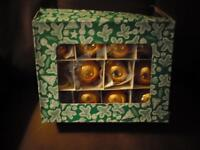 Box of Older Christmas Tree Ornaments
