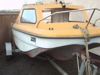 Boat for sale with 60hp johnston engine