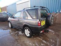 Land Rover FREELANDER £725 Good car for money