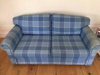Laura Ashley Metal Sofa Bed: 180cm x 92cm x 72cm