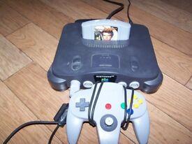 Nintendo 64 N64 with Goldeneye