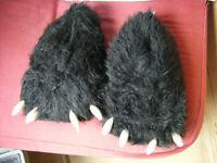 Monster Feet Slippers.