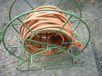 65ft / 20m Hover Mower Cable and metal winder storage frame