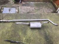 fiat punto 1.2 exhaust muffler silencer middle and rear