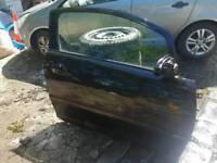 Vauxhall Corsa D, 3 door, driver side door in Black 20R