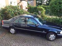 Mercedes C200 Elegance Auto - Dark Blue