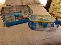 Hamster cages FREE