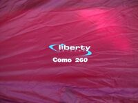 Liberty Leisure Como 260 Porch Awning