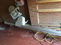 Straight Stair lift in excellent condition with remote