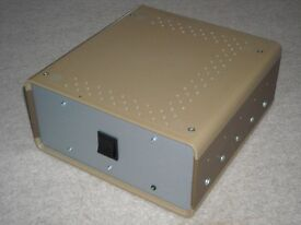 Power supply for class A amplifiers, suits john linsley hood, nelson pass etc diy designs.